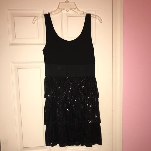 Rachel Chloe Dresses Little Black Sparkly Dress Poshmark